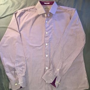 Express men's fitted Button up size XL